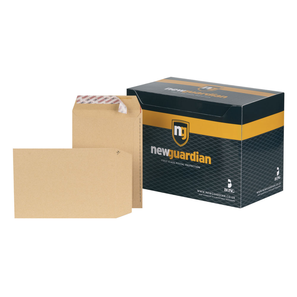 New Guardian Manilla C5 Peel and Seal Envelopes 130gsm, Pack of 250 - L26039