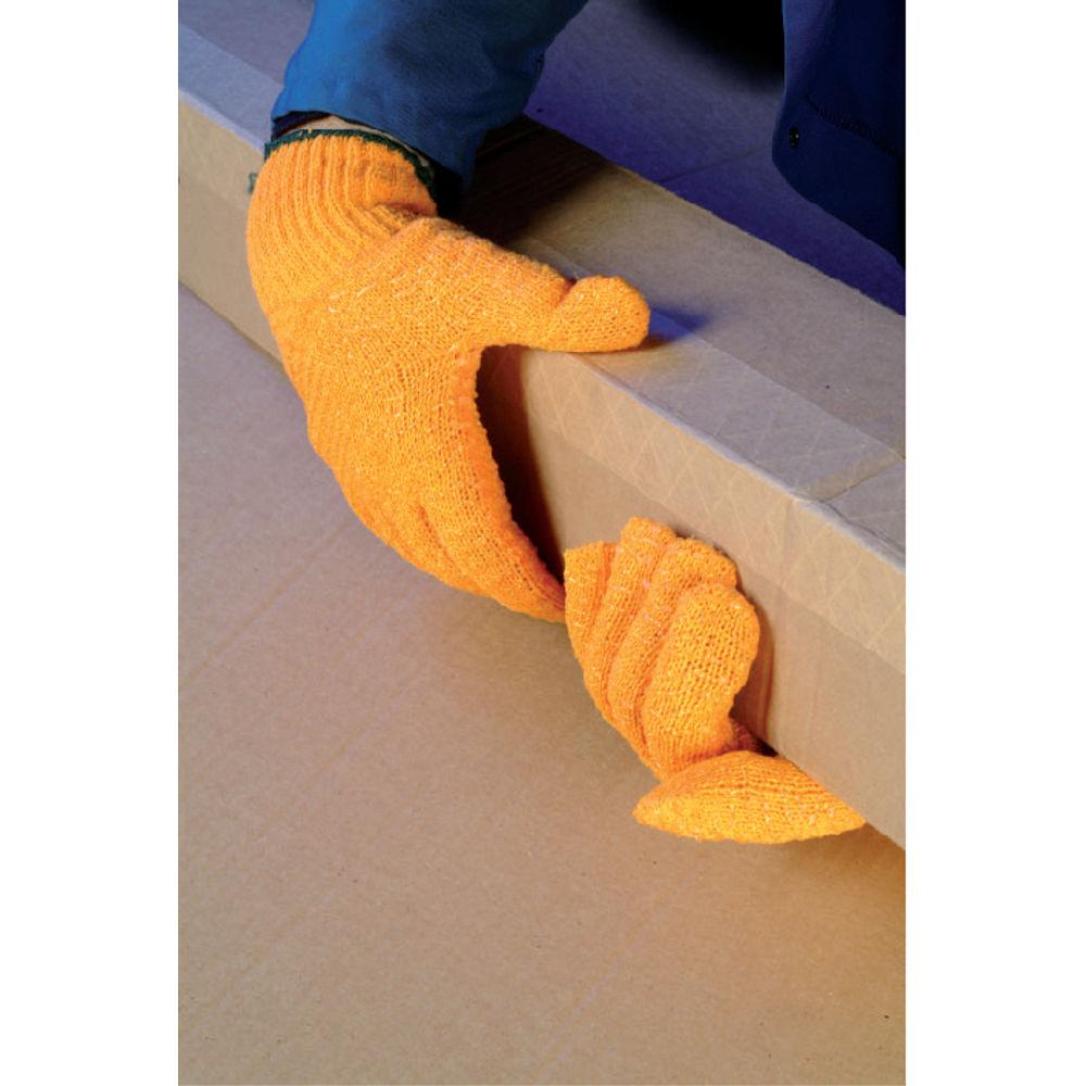 Polyco Size 10 Orange Crisscross Gripper Gloves - CSP156/MNS