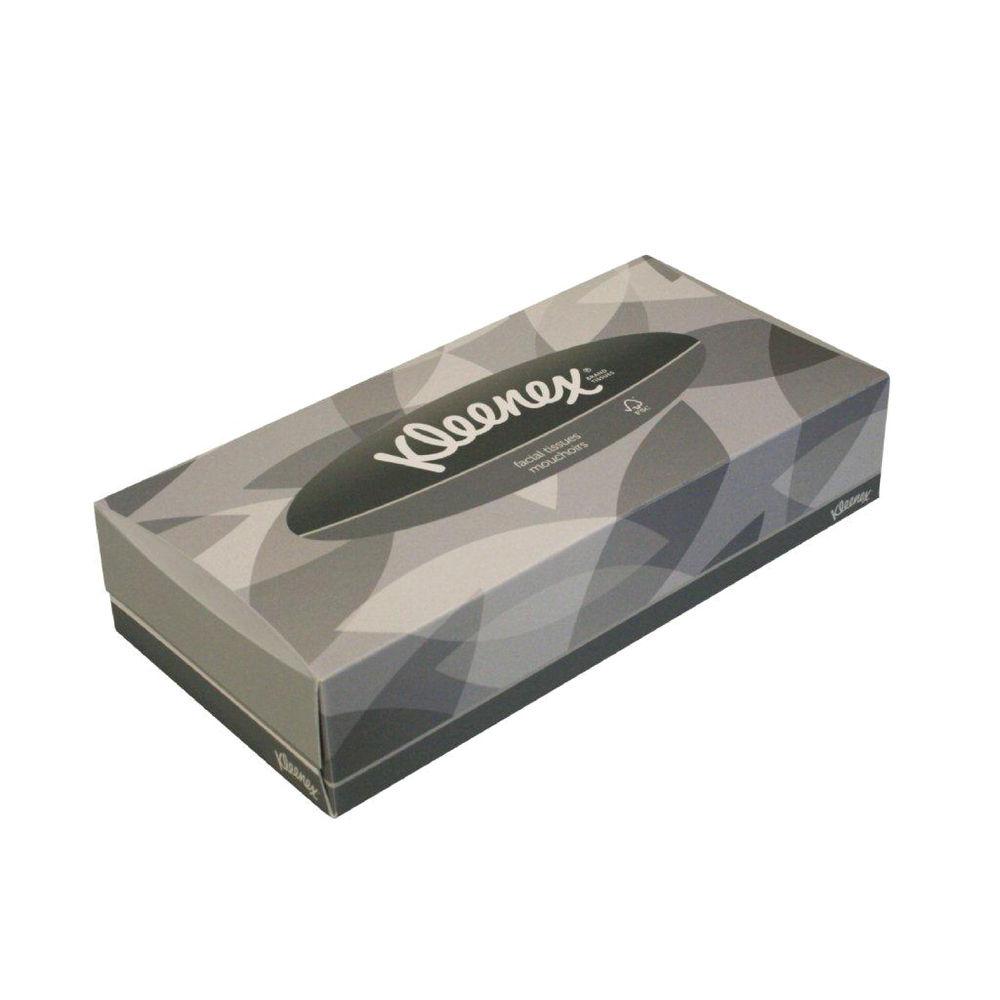 Kleenex Facial Tissues, 100 Sheets, Pack of 21 - 8835