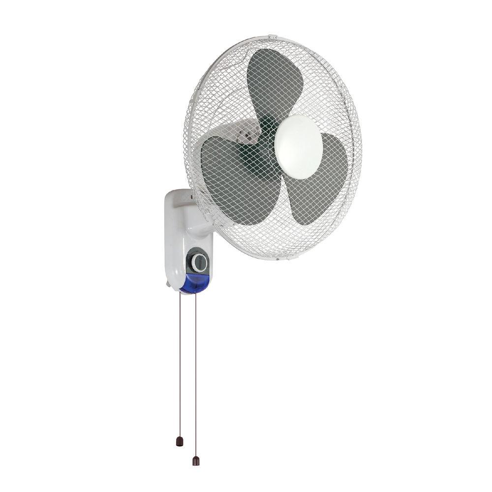 White Wall Fan 16 Inch - KF00406