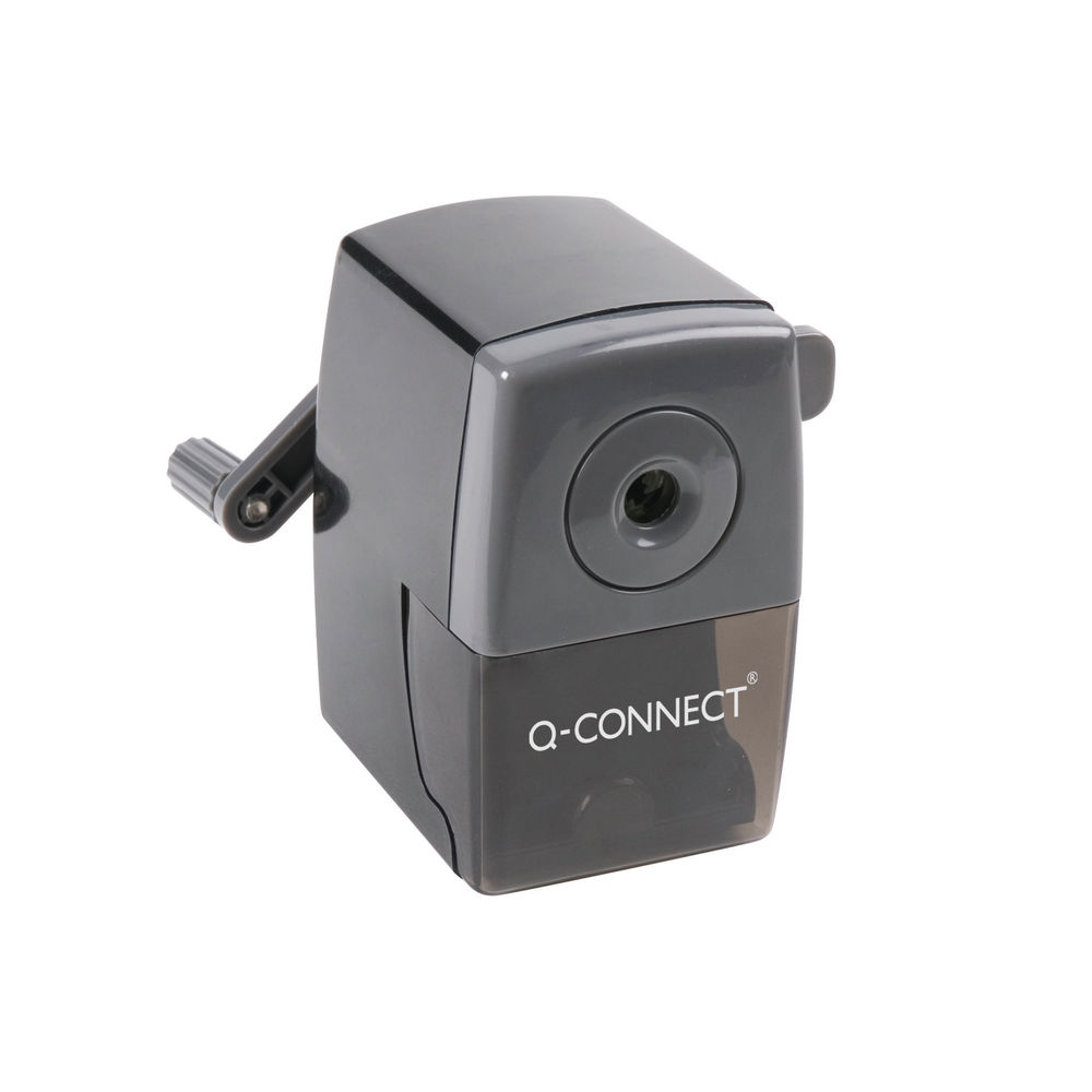 Q-Connect Black Desktop Pencil Sharpener - KF02291