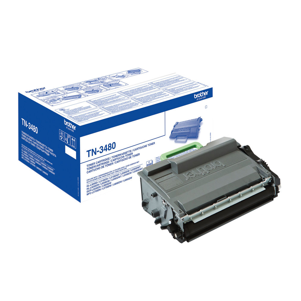 Brother TN3480 Black High Yield Toner