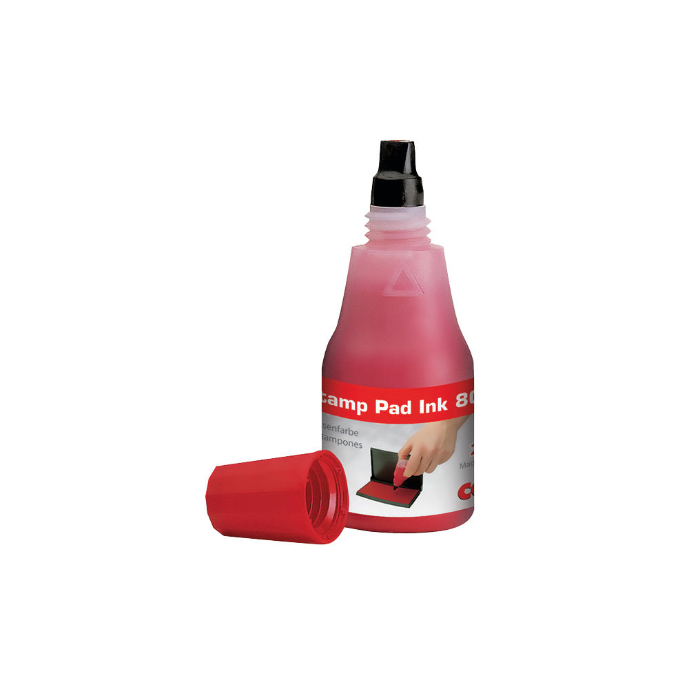 COLOP 801 Red 25ml Stamp Pad Ink - 801RD