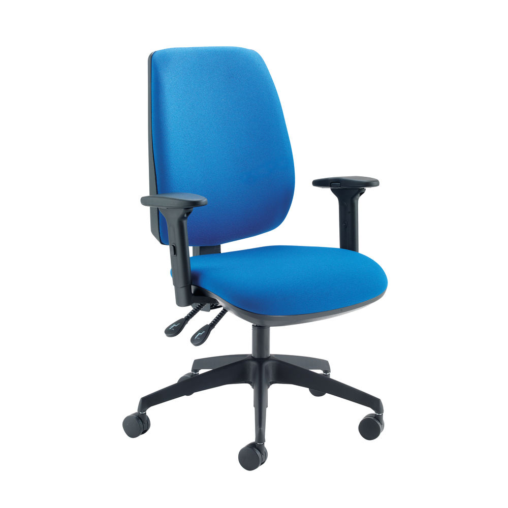 Cappela Grayson Blue High Back Task Office Chairs