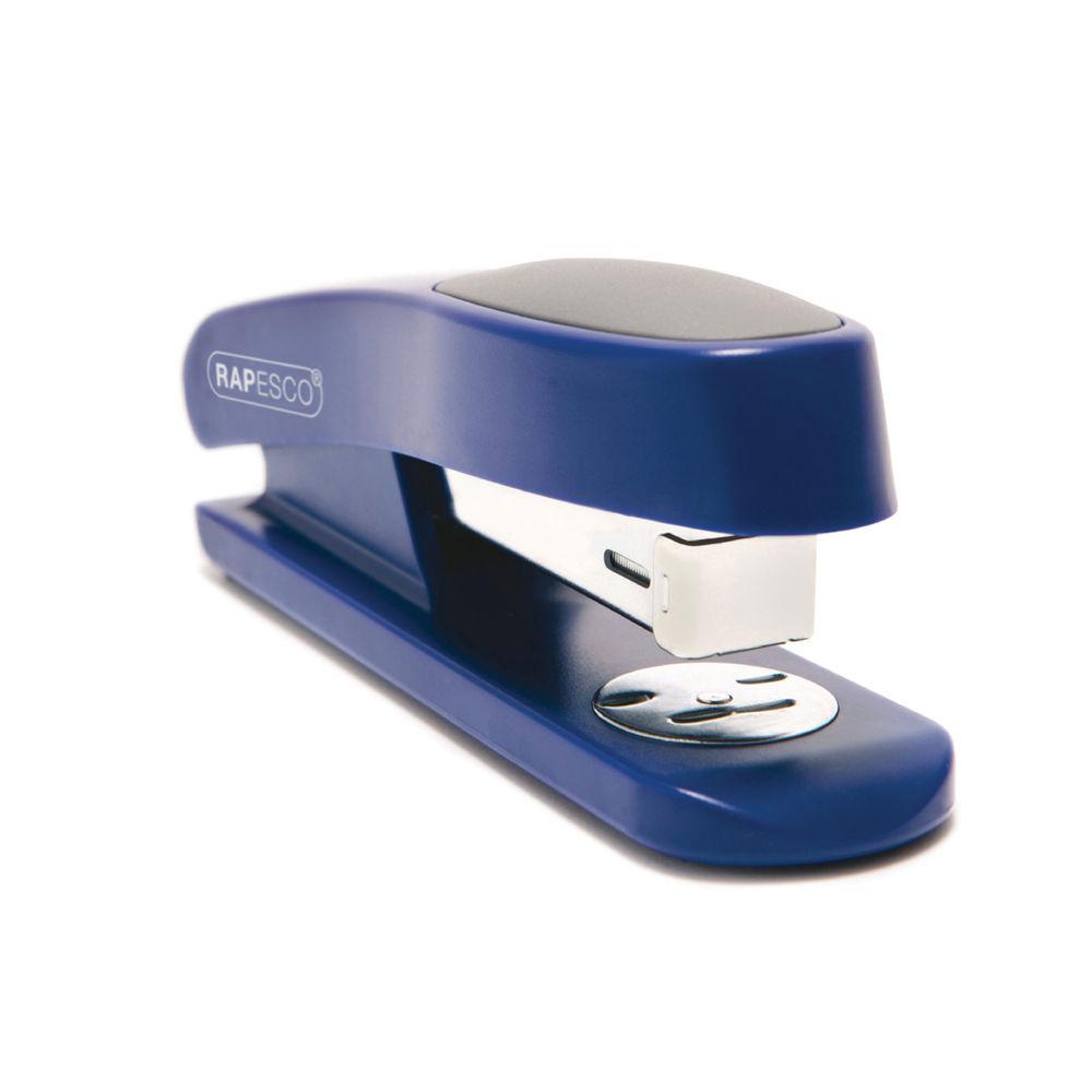 Rapesco Sting Ray Half Strip Stapler Blue R72660L3