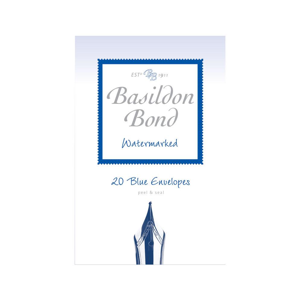 Basildon Bond Duke Blue 95 x 143mm Envelopes 90gsm, 10 Packs x 20 - 100080064