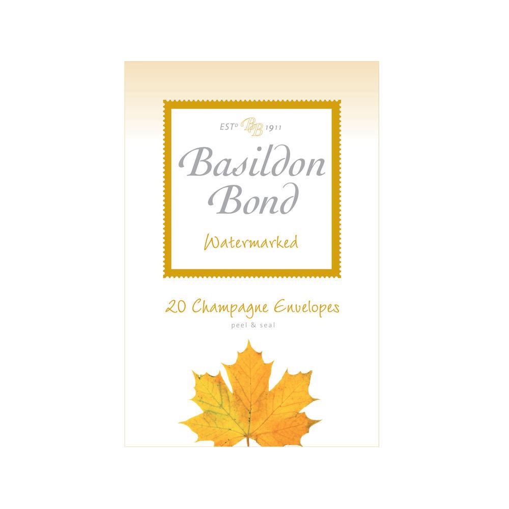 Basildon Bond Champagne Envelope 95 x 143mm (Pack of 200) 100080069
