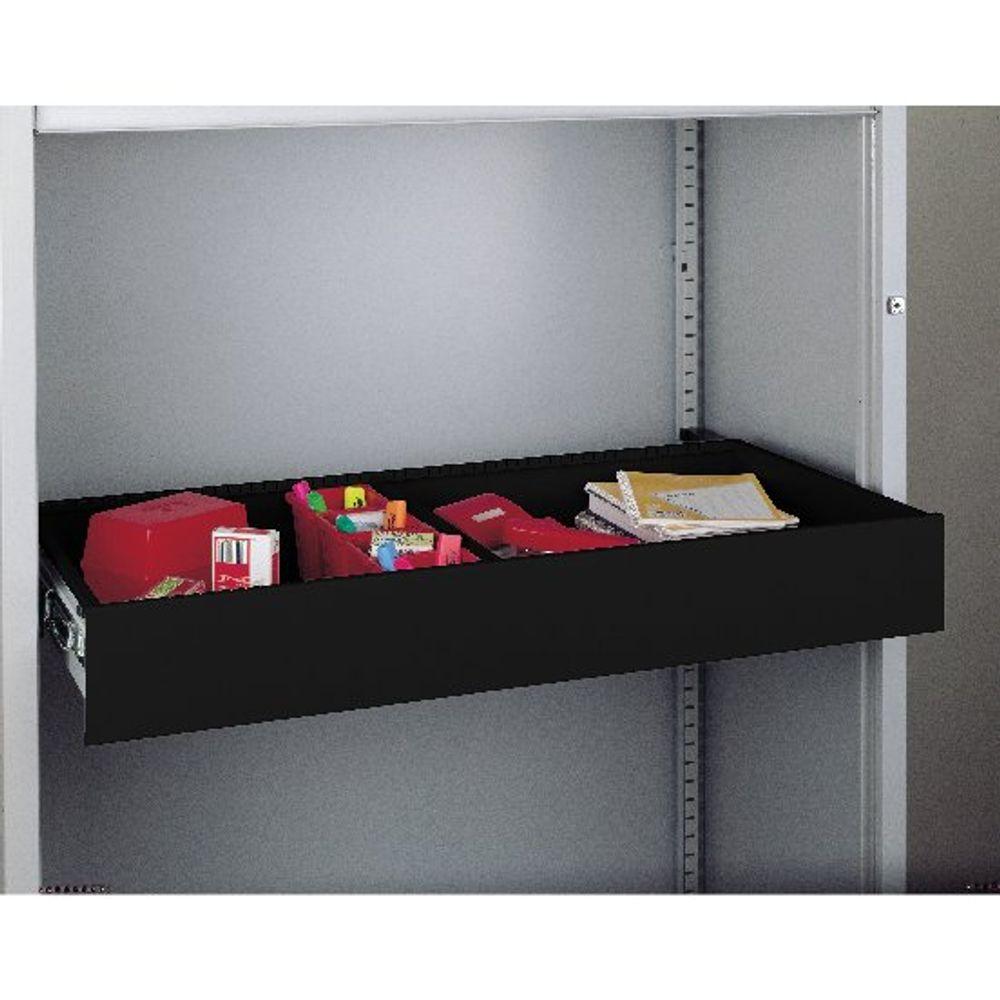 Bisley Black Rollout Drawer - RODWR4-45