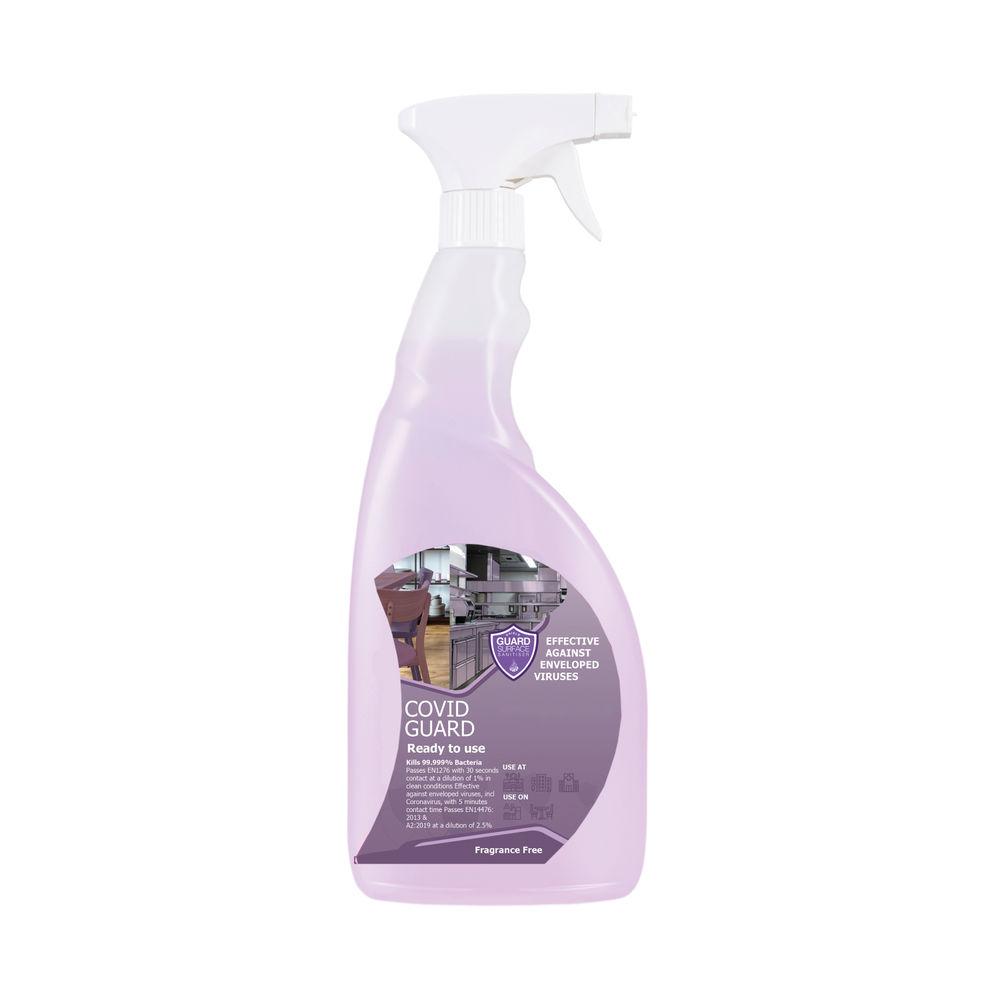 Virucidal Spray Fragrance Free 750ml (Pack of 6) CGV-FFree-RTU-6