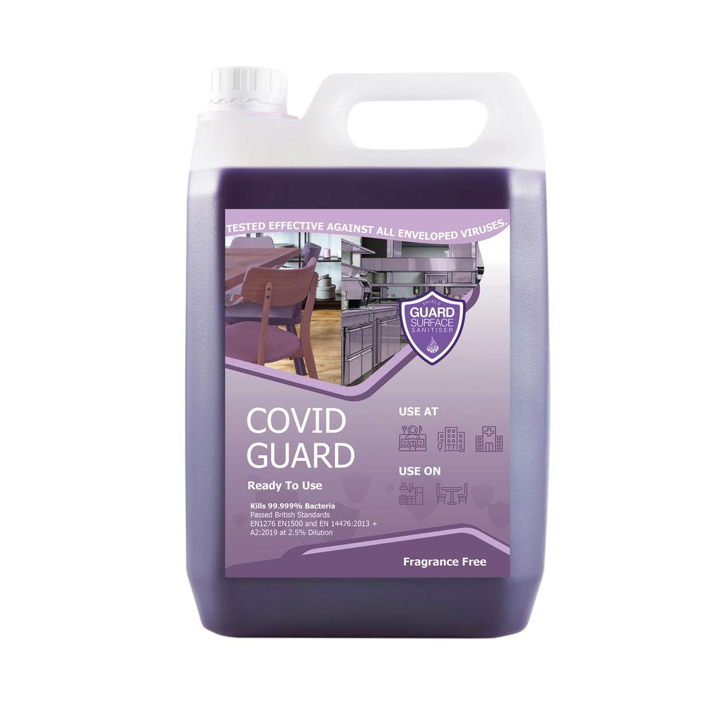 Virucidal Cleaner Fragrance Free 5L (Pack of 2) CGV-FFree-RTU-2
