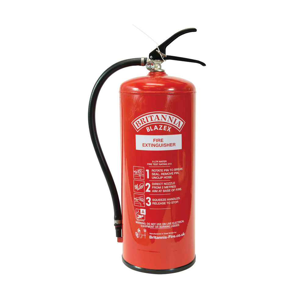 Fire Extinguisher 9 Litre Water - WSP9000/F