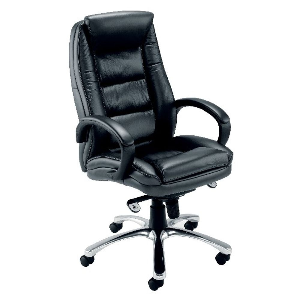 Avior Tuscany Black Leather Executive Office Chair