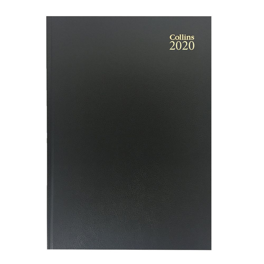 Collins Black A4 2020 Week to View Desk Diary - 40
