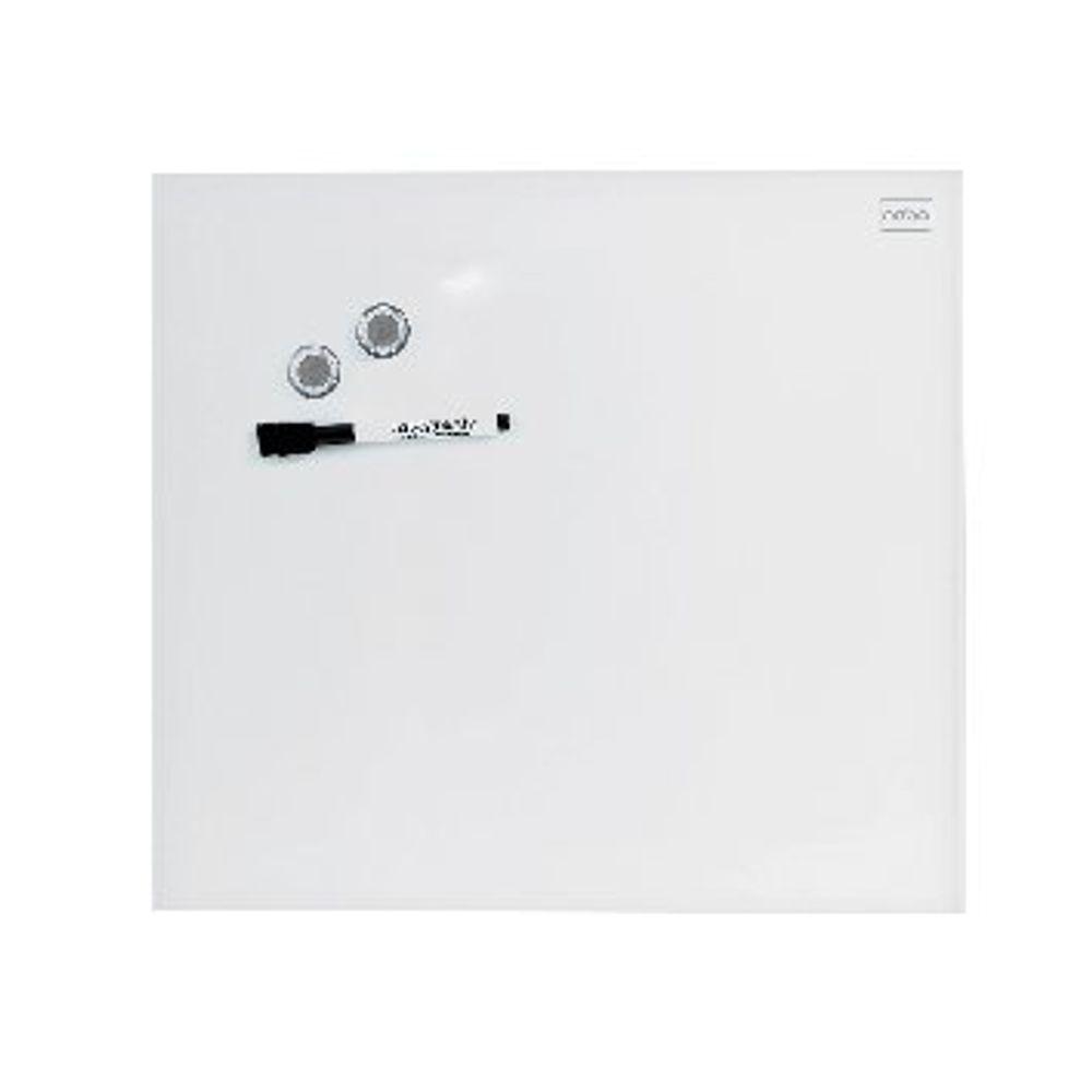 Nobo Diamond Glass 300 x 300mm Magnetic Whiteboard - 1903956