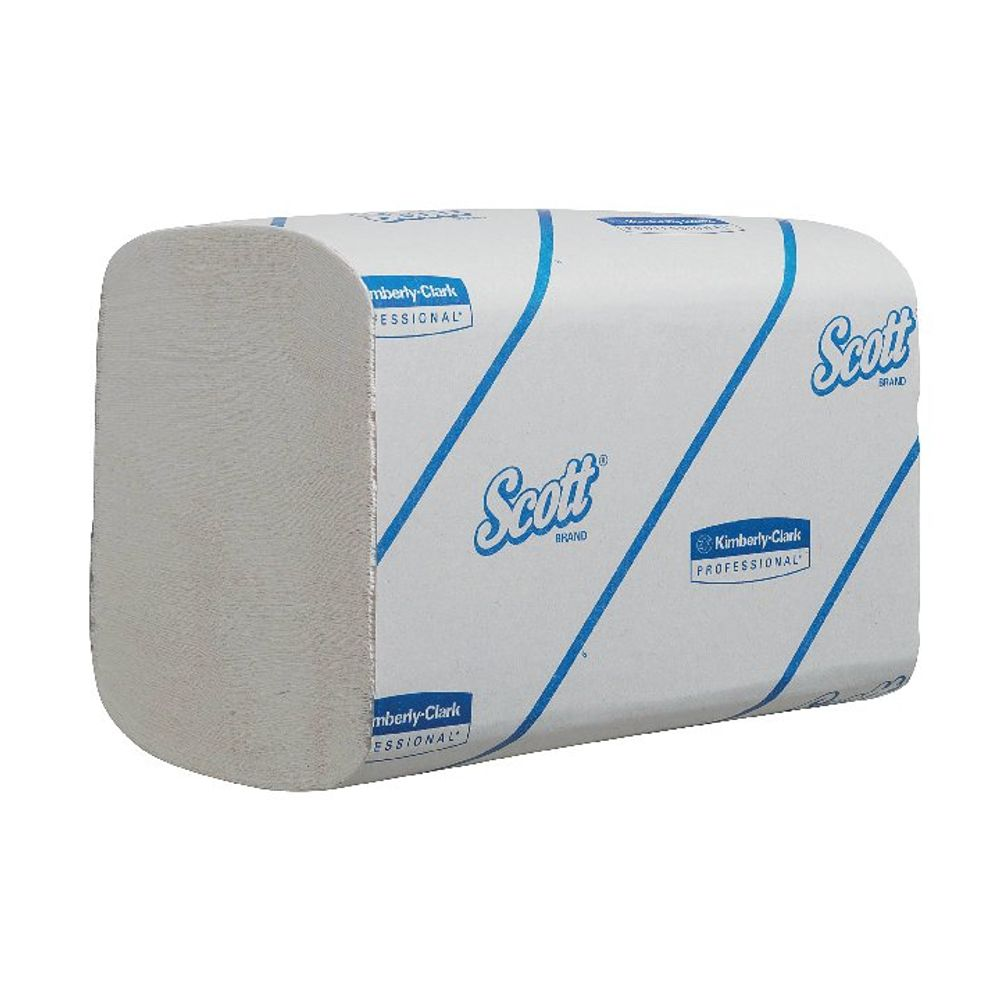 Scott 1-Ply XTRA Interfolded Hand Towels, Pack of 15 - 6677