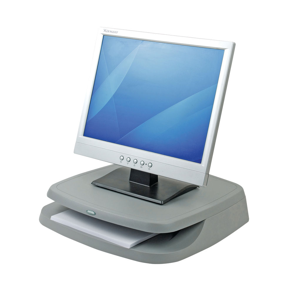 Fellowes Basic Charcoal Monitor Riser - 91456