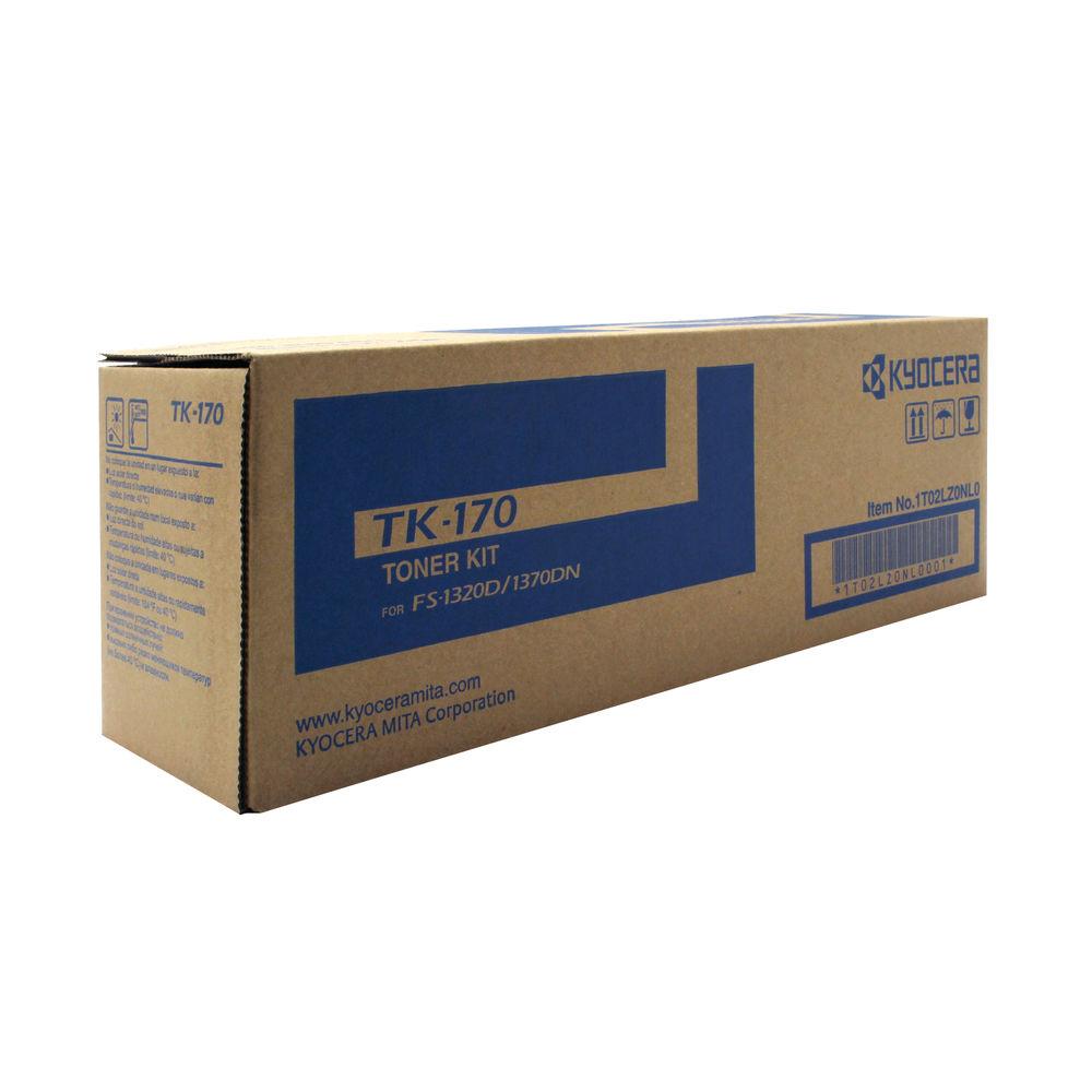 Kyocera TK-170 Black Toner Cartridge (7,200 Page Capacity)