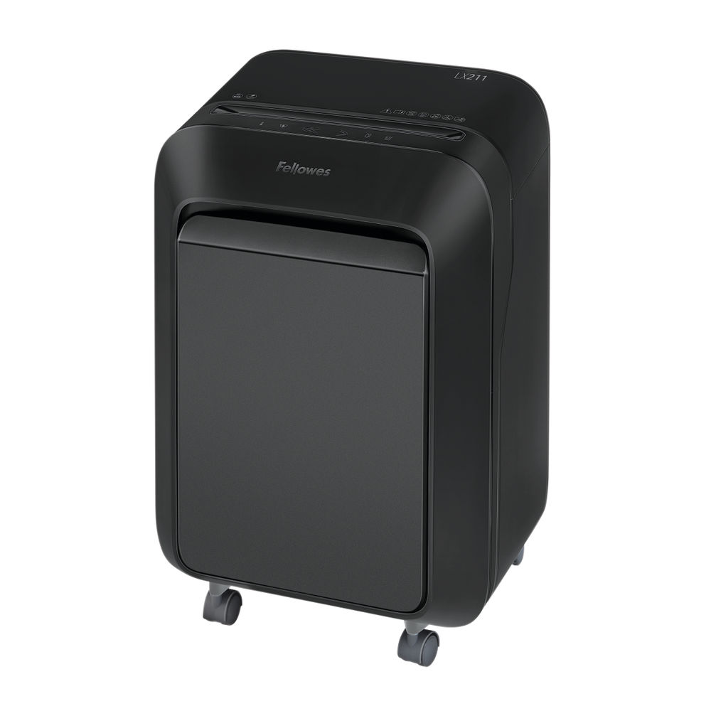 Fellowes LX211 Black Micro Cut Shredder – 5050201