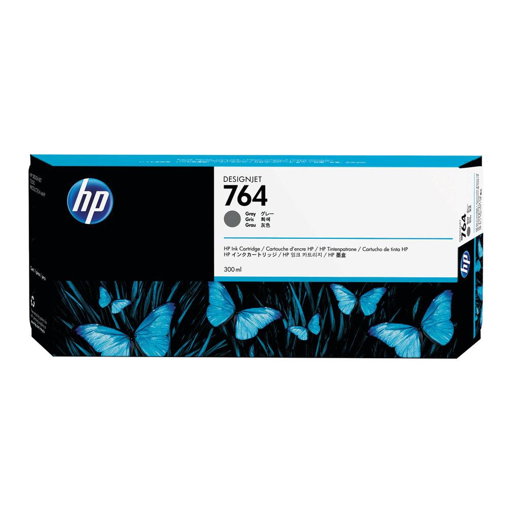 HP 764 Grey Ink Cartridge - C1Q18A