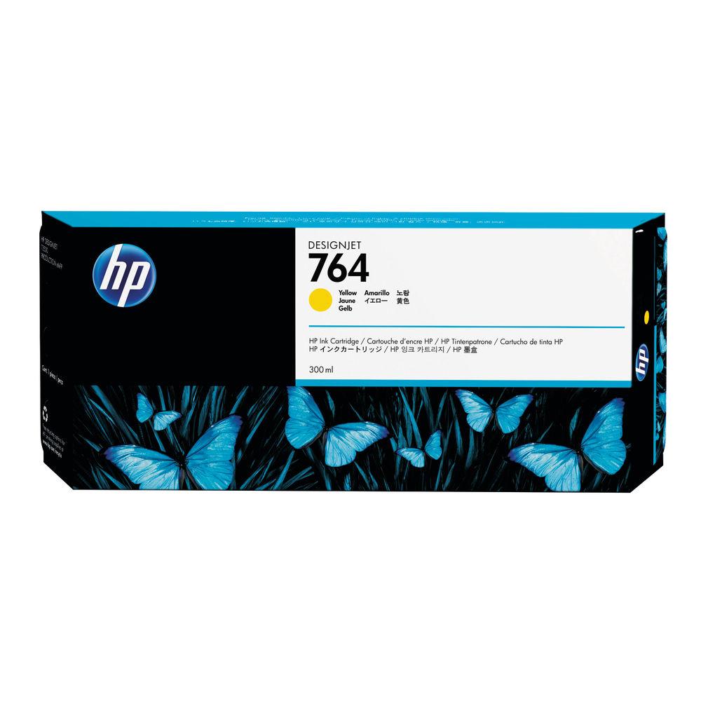 HP 764 Yellow Ink Cartridge - C1Q15A