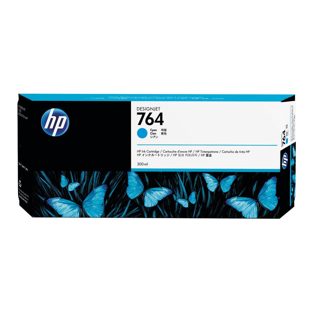 HP 764 Cyan Ink Cartridge - C1Q13A