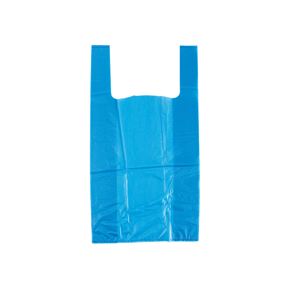 Recycled Vest Carrier Bag 280 x 410 x 510mm  (Pack of 1000) WX07473