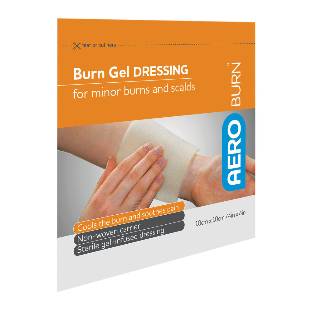 Aeroburn Sterile Gel Dressing 100x100mm