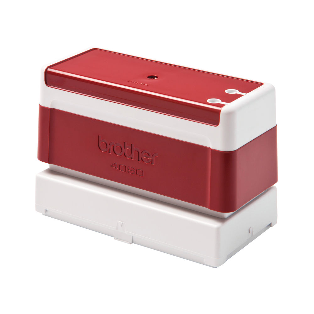Brother PR4090R Stamp 90 x 40mm Red (Pack of 6) PR4090R6P