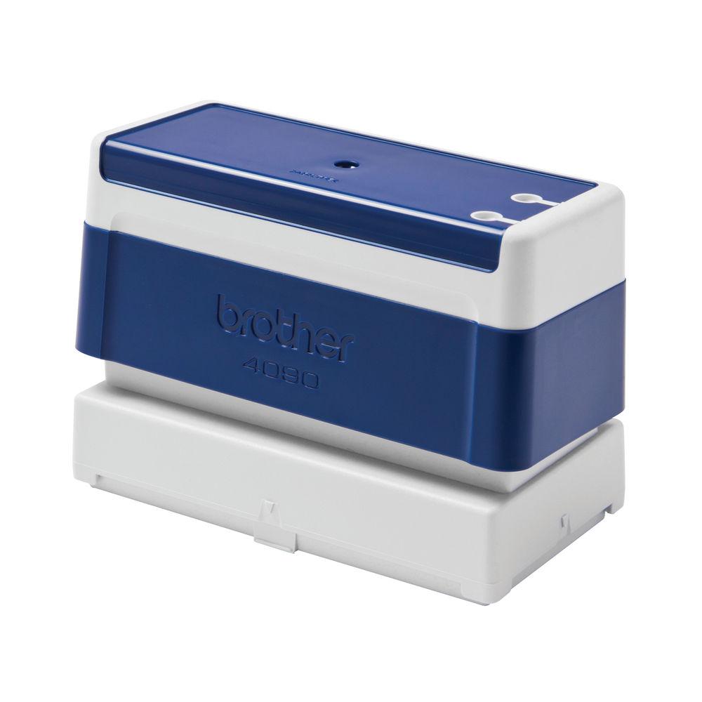 Brother PR4090E Stamp 90 x 40mm Blue (Pack of 6) PR4090E6P