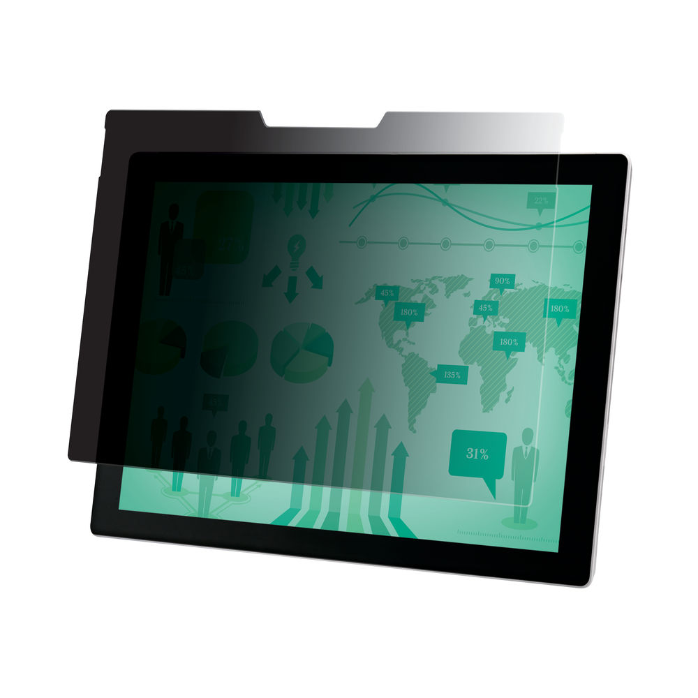 3M Privacy Filter for Microsoft Surface Pro 3 and 4 Landscape PFTMS001