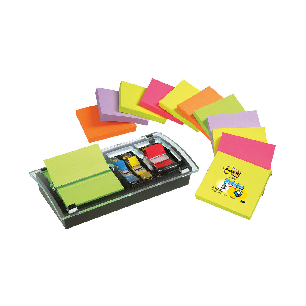 Post-it Designer Combi-Note Dispenser | DS100-VP