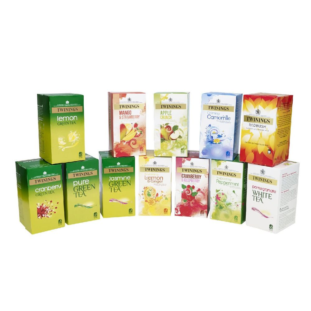 Twinings Herbal Infusion Tea Bags Variety, Pack of 240 - F14908
