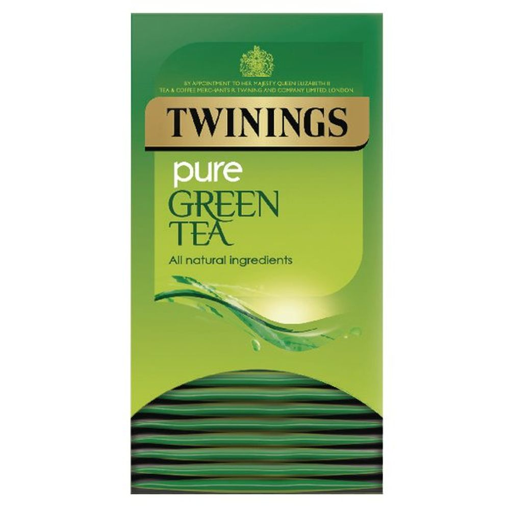 Twinings Pure Green Tea Bags (Pack of 20) F09542