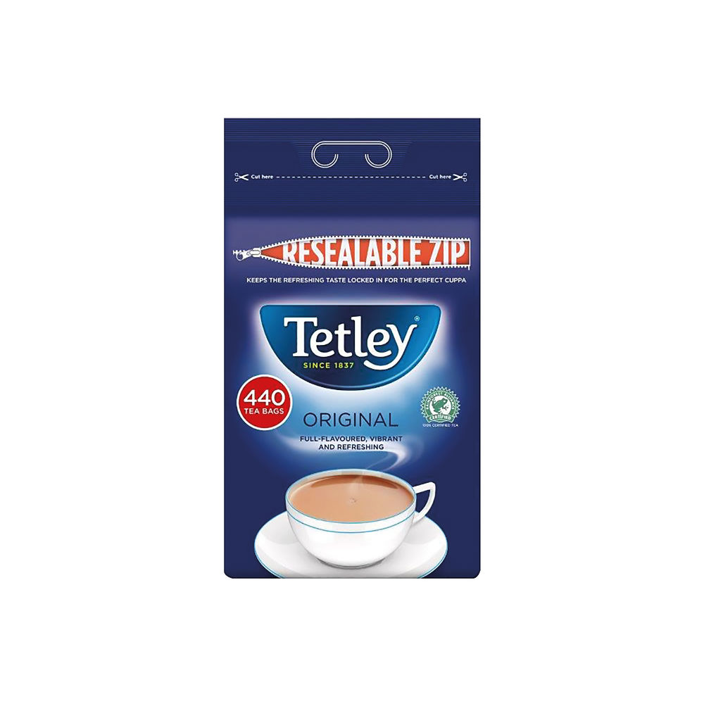 Tetley One Cup Tea Bags, Pack of 440 - A01352