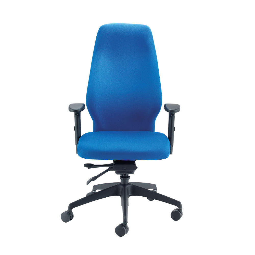 Cappela Dynamic Blue High Posture Office Chair