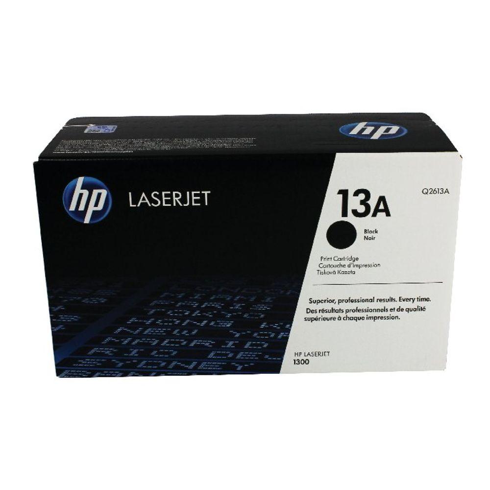 HP 13A Black Laserjet Toner Cartridge Q2613A