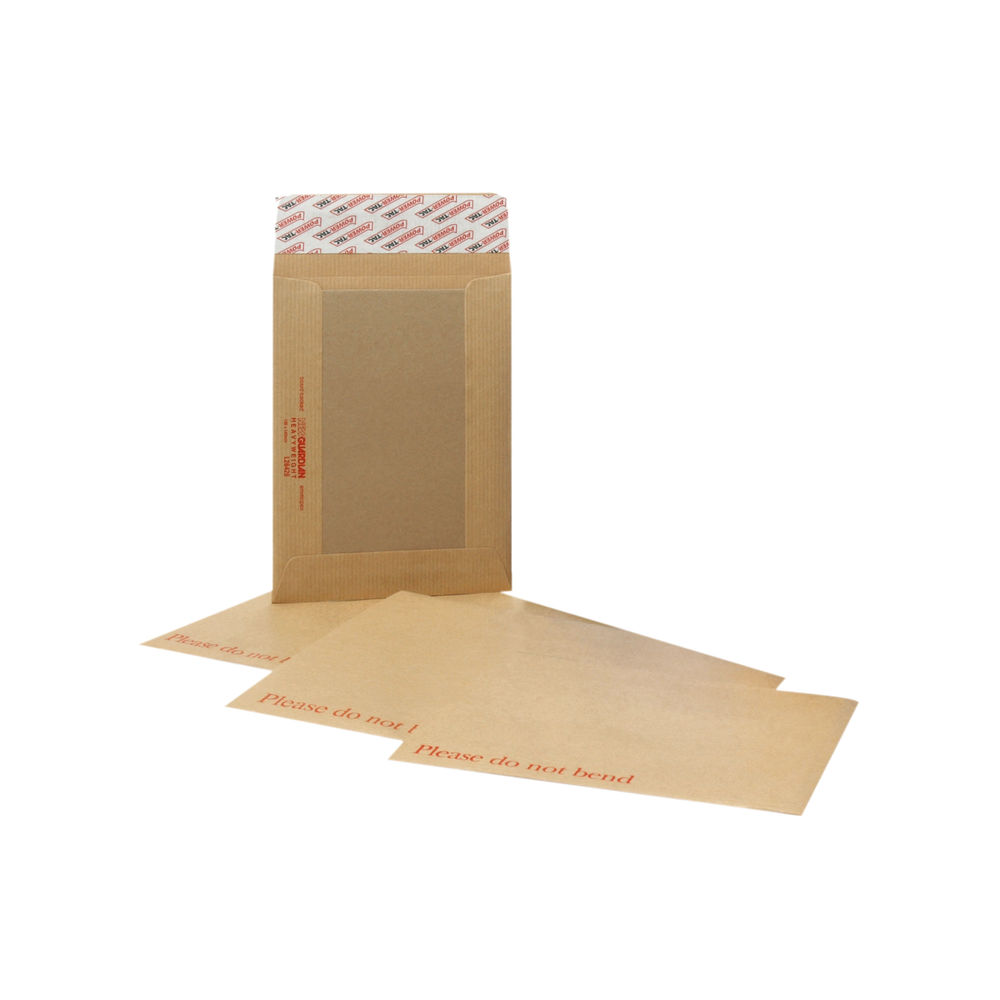 New Guardian Board Backed Manilla C4 Envelopes 130gsm - Pack of 125 - H26326