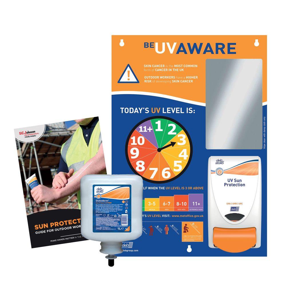 Deb Stokoderm UV Protection Starter Pack SSCSUNSP
