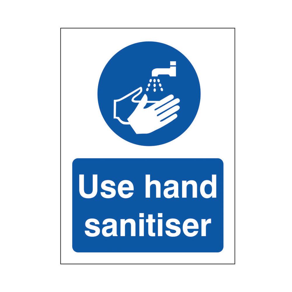 Safety Sign Use Hand Sanitiser SRP 150 x 200mm M401SRP-150X200