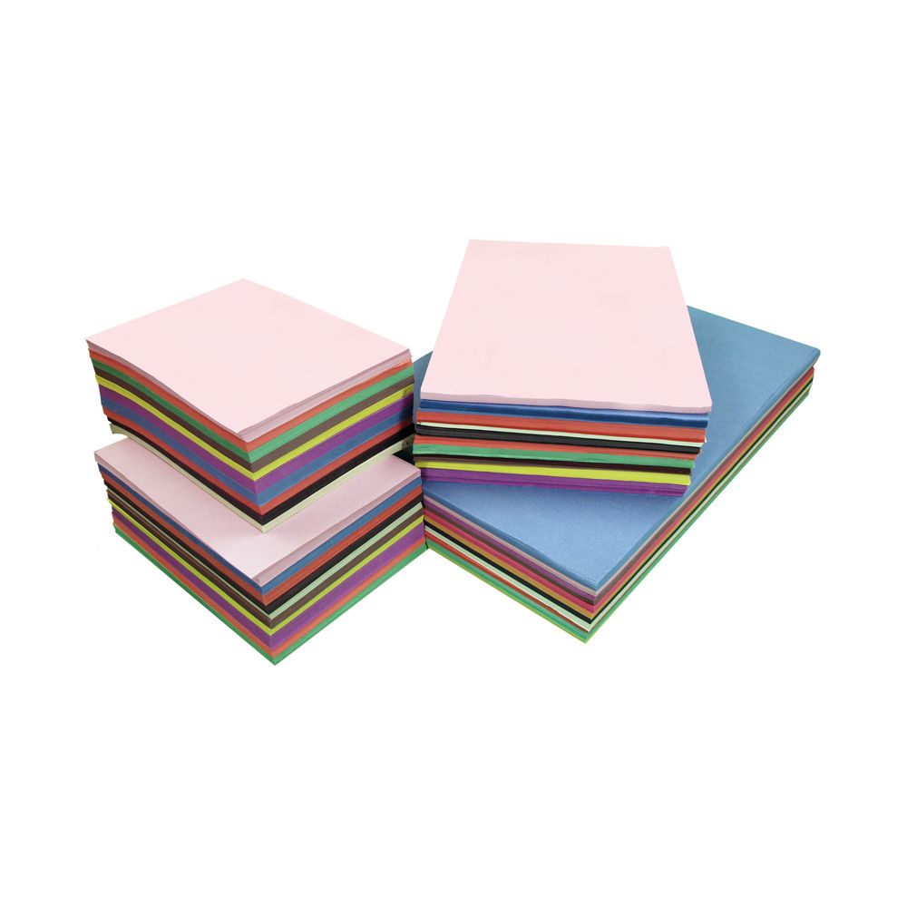 A2 A3 and A4 Assorted Sugar Paper (Pack of 2250) D98005CI101