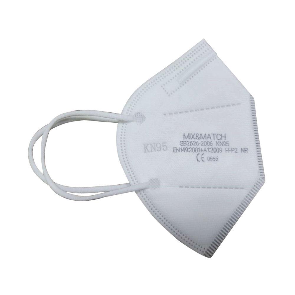 KN95 Disposable Protective Face Mask White KN95EN149