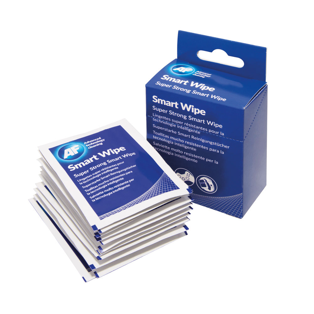 AF Smartwipes Strong Screen Cleaning Wipes (Pack of 10) ASMARTWIPE10
