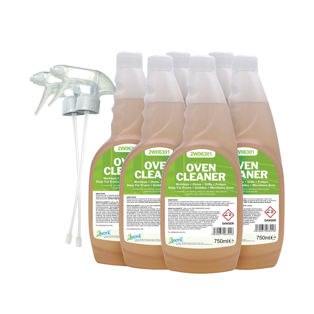 2Work 750 ml Oven Cleaner (Pack of 6) – 364