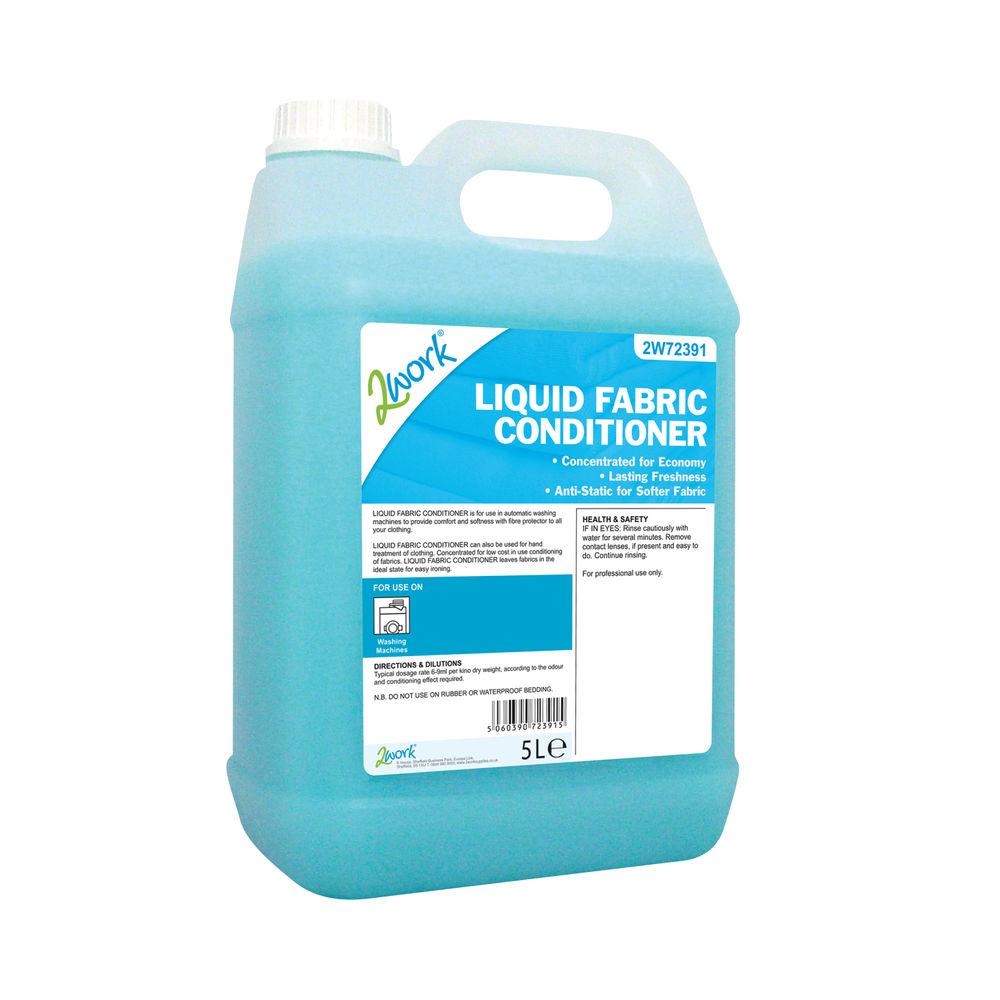 2Work Liquid Fabric Conditioner for Auto-Dosing Machines 5 Litre 2W72391