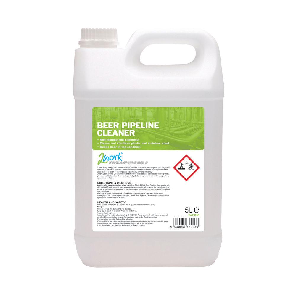 2Work Beer Pipeline Cleaner and Steriliser 5 Litre 2W76003