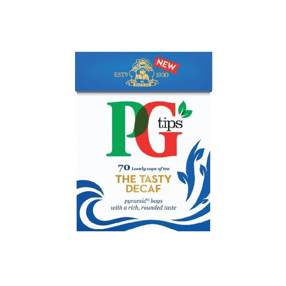 PG Tips Decaffeinated Pyramid Tea Bags, Pack of 80 - 28618501