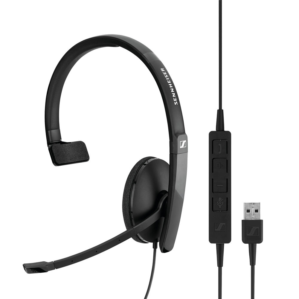 Sennheiser SC130 USB Monaural Headset - 508314