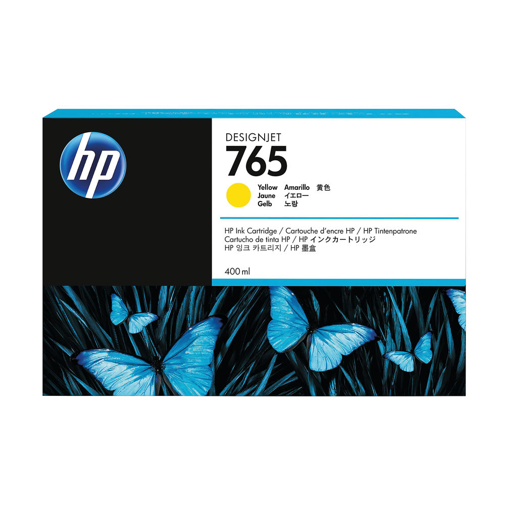 HP 765 Yellow Ink Cartridge - F9J50A