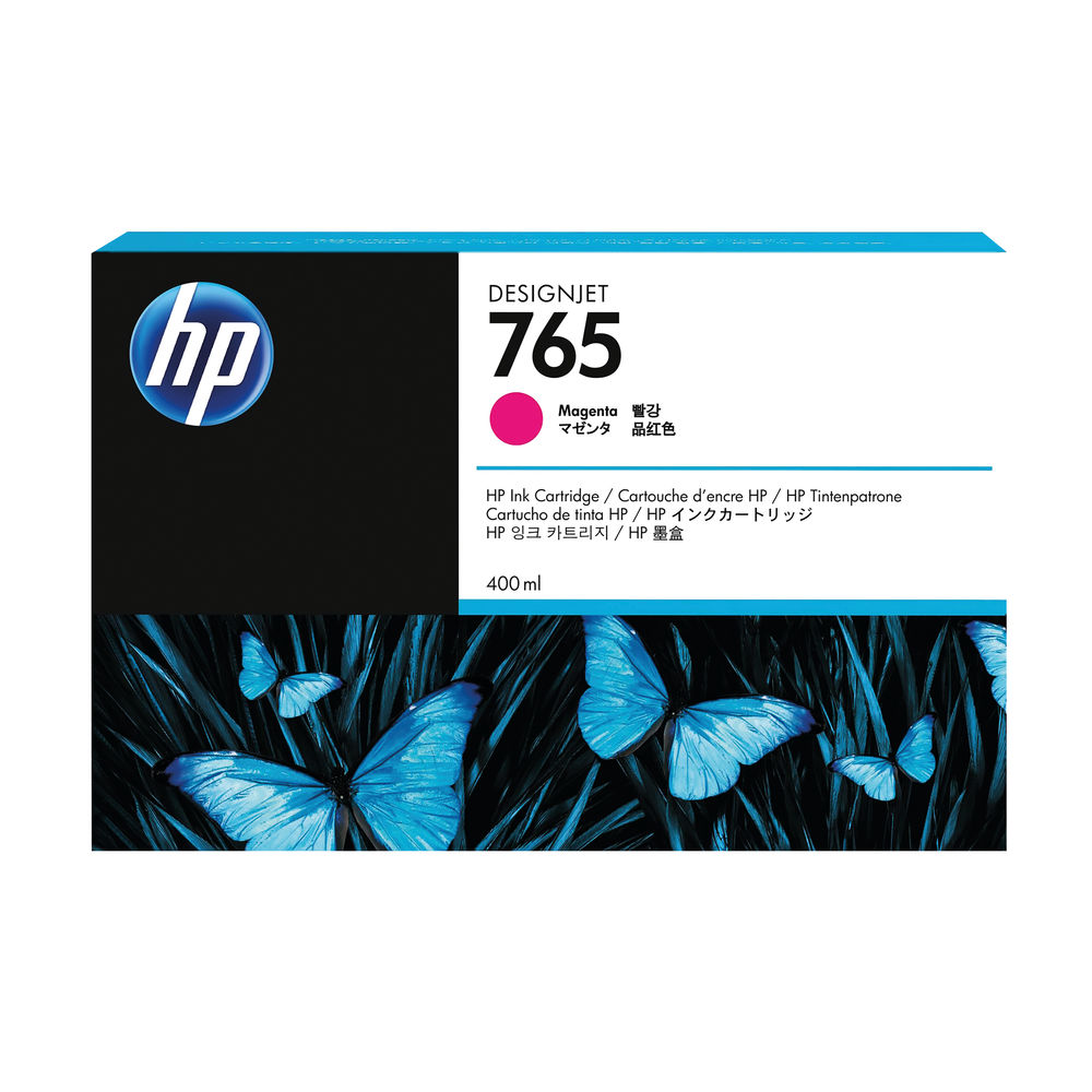 HP 765 Magenta Ink Cartridge - F9J51A