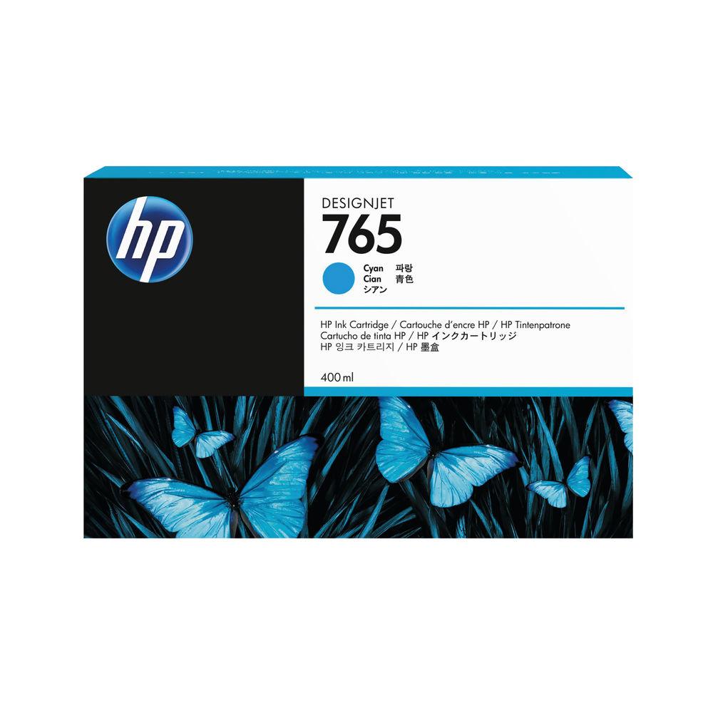 HP 765 Cyan Ink Cartridge - F9J52A
